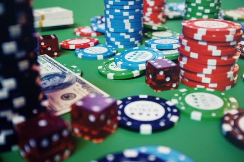 Casino poker table etiquette